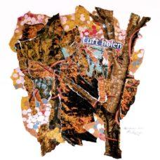 oktober 2020 - collage auf papier - 40 x 40 cm - 2020