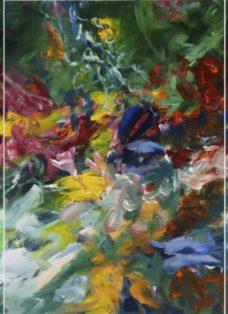 bewegte zeiten I-III - mixed media auf leinwand - 100 x 210 cm - 2017
