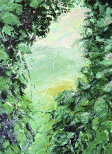 still looking I - acryl auf leinwand - 80 x 90 cm - 2015