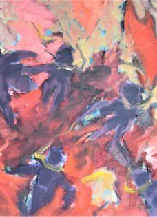 böse buben - mixed media auf leinwand - 100 x 130 cm - 2012