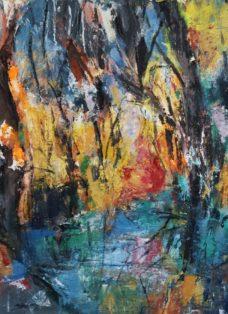 unlimited nature III - mixed media auf leinwand - 80 x 80 cm - 2019