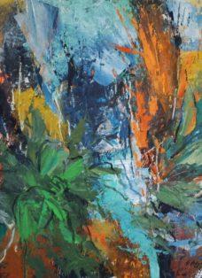 unlimited nature II - mixed media auf leinwand - 80 x 80 cm - 2019