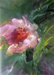 abschied vom sommer I - acryl auf leinwand - 100 x 70 cm - 2016