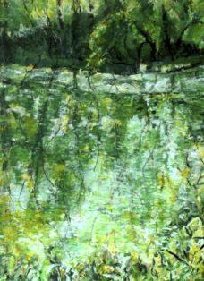 segen der natur I - acryl auf leinwand - 80 x 80 cm - 2016