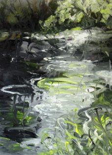 segen der natur III - acryl auf leinwand - 80 x 80 cm - 2016