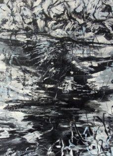 segen der natur IV - acryl auf leinwand - 80 x 80 cm - 2016